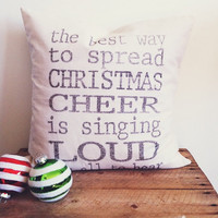 Christmas Cheer 16 x 16 Pillow Cover