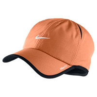 Nike Featherlight Adult Unisex Tennis DRI-FIT Cap, Light Crimson