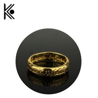 The Lord of the jewelry Stainless Steel Black  Rings for Men Fashion Jewelry Casual hobbi Jewelry