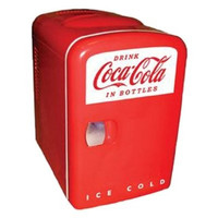 Koolatron Cocoa-Cola Personal 6-Can Mini Fridge