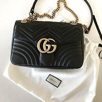 Gucci Fashion New Women Leather Shopping Shoulder Bag Handbag Crossbody Satchel Bag