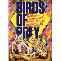 Harley Quinn Birds of Prey Movie Poster Magnet