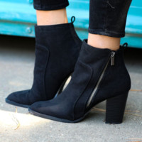 Timmy Faux Suede Booties
