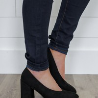 See You Tonight Pumps - Black