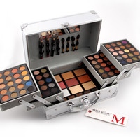 MISS ROSES colour makeup suits Universal cosmetic bag professional makeup artist Professional makeup box with shadow