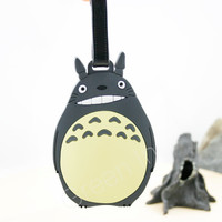 Totoro/ luggage tag/ luggage/ travel accessory/ studio ghibli/ miyazaki/ totoro luggage tag/ tags/ cute luggage tags/ travel gifts/ kawaii