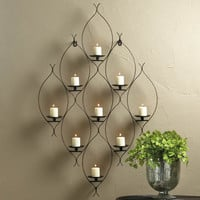 AMBIT WALL DECOR CANDLE HOLDER