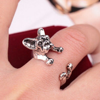 Jewelry Gift Stylish New Arrival Shiny Lovely Animal Couple Ring [10392932116]