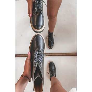If You Want To Black Lace Up Boots
