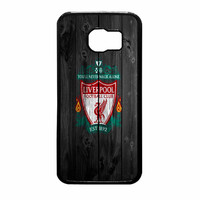 Liverpool FC Wood Style Samsung Galaxy S6 Case