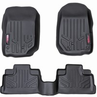 Jeep Wrangler Heavy Duty Floor Mats Jeep JK & JK Unlimited 2007 - 2017