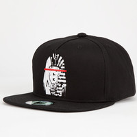 Last Kings The Rise Mens Snapback Hat Black One Size For Men 25403510001