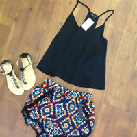 Just To Feel Your Love Pom Pom Shorts