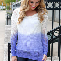 Plum Moscato Sweater