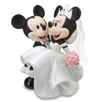 Disney Wedding Minnie Mouse and Mickey Mouse Figurine | Disney Store