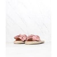 COCONUTS By Matisse - Now or Never Bow Sandal in Pink