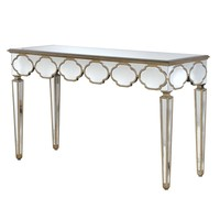 NEW! Alameda Mirrored Console Table