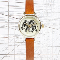Small Elephant Face Watch - Urban Outfitters