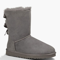 Ugg Bailey Bow Womens Boots Grey  In Sizes
