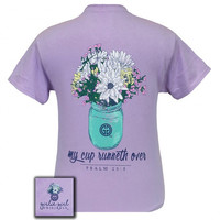 Girlie Girl Originals My Cup Runneth Over Orchid T-Shirt
