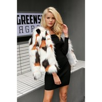 Penelope Faux Fur Coat