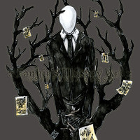 Slenderman III - Print - FREE shipping worldwide!