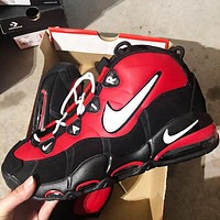 NIKE AIR MAX UPTEMPO 95 Fashion New Hook Men High Top Running Sports Leisure Shoes