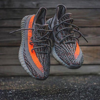 Adidas Yeezy 550 Boost 350 V2 Sneakers Breathable Sports Shoes