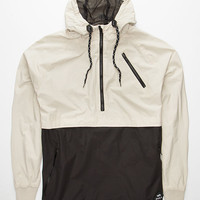 Rvca Hallihan Ii Mens Jacket Black/White  In Sizes