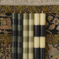 Stripe Candle - Forest Collection