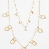 Boho To-Do Individualist Necklace by ModCloth