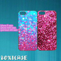 Sparkle,Glitter,Best Friends---iphone 4 case,iphone 5 case,ipod touch 4 case,ipod touch 5 case,in plastic,silicone and black,white.