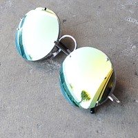 Spitfire Poolside in Silver/Gold Mirror Lens