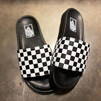 Vans Slide On Checkerboard Slipper Shoes