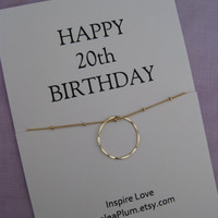 20th Birthday Gift for her, Sterling Eternity Circle necklace for mom, family of 4, gift for Sister, Gold Eternity necklace, Gift For Her