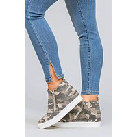 Taylor Wedge Sneakers