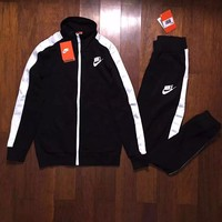 """Nike"" Fashion Top Jacket Pants Sweatpants Set Two-Piece Sportswear"