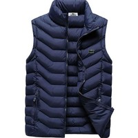 Lacoste Fashion Down Vest Cardigan Jacket Coat
