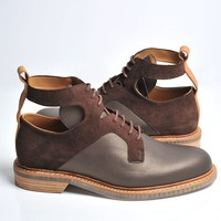 Combo Brown Boots