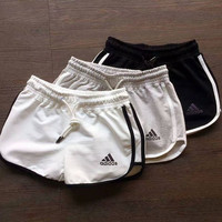 Adidas Woman Sports Leisure Running Shorts