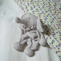 Organic Cotton Stuffed Animal Baby Elephant