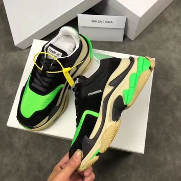 Custom Balenciaga Huaraches men Breathable Running Sport Sneakers Shoes Flats Boots best quality