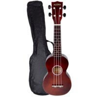 Aloha Soprano Ukulele w/ Carrying Case