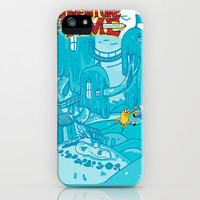 Adventure Time! iPhone & iPod Case by Jamie Bryan