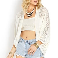 Off-Duty Dolman Cardigan
