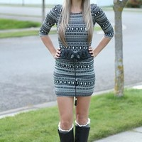 Forget Me Not Tribal Dress