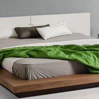 Opal Modern Low Profile Platform Bed