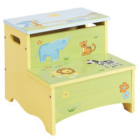 Guidecraft Savanna Smiles Storage Step-Up - G86806