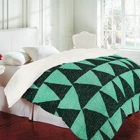 DENY Designs Home Accessories | Nick Nelson Analogous Shapes Duvet Cover