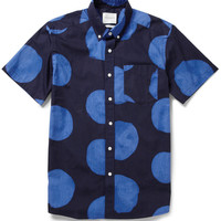 Saturdays Surf NYC Esquina Dot-Print Cotton Shirt | MR PORTER
